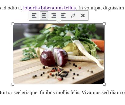 image editing toolbar