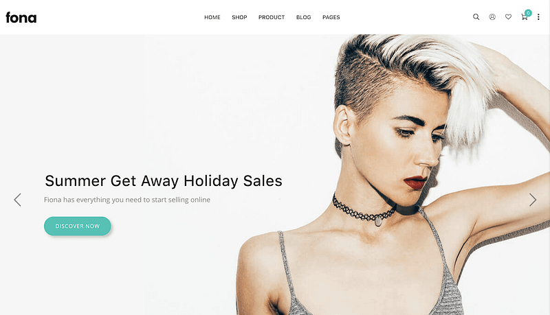 Fona AMP eCommerce theme