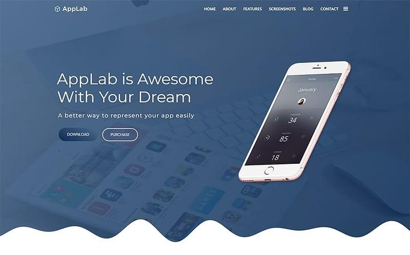 AppLab tech theme