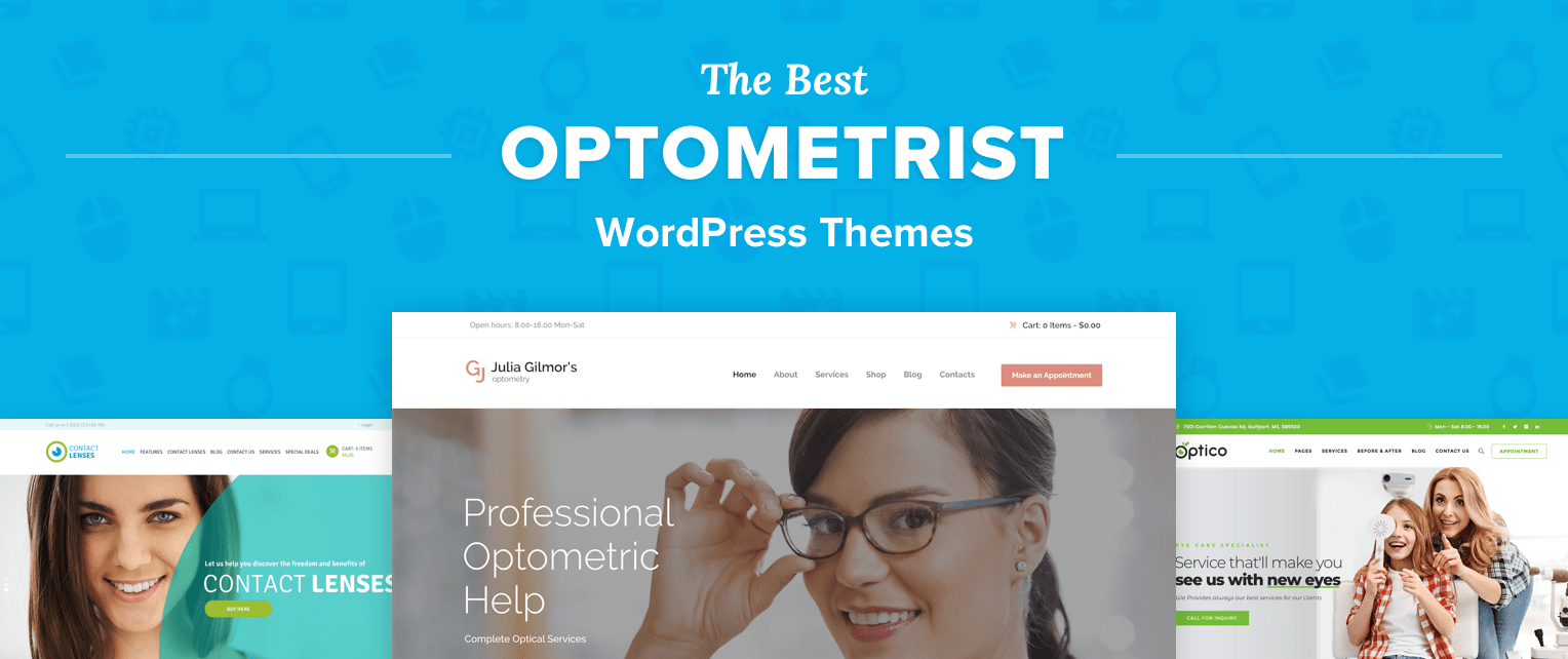 Optometrist WordPress Themes