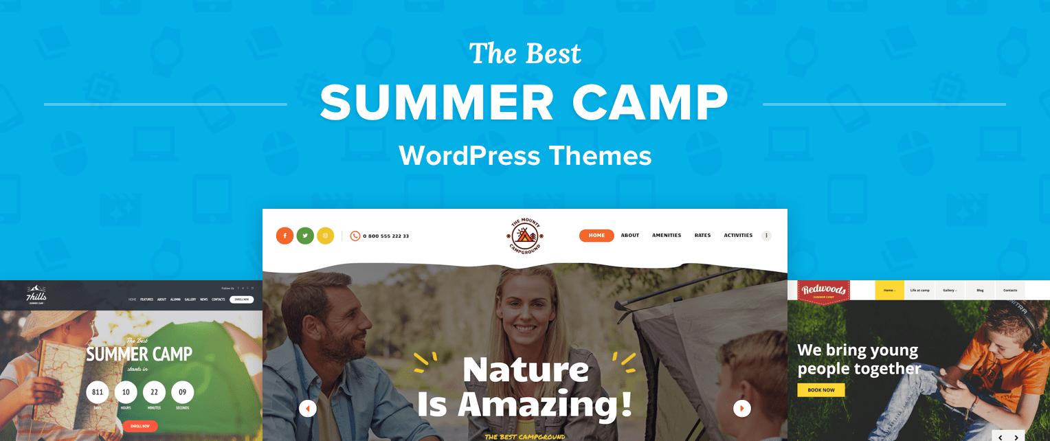 Summer Camp WordPress Themes