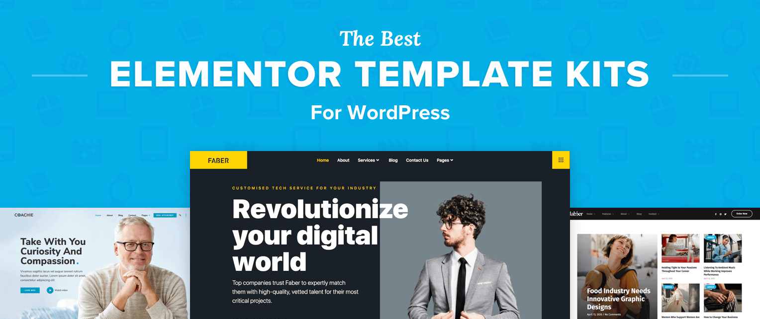 The Best Elementor Templates for WordPress