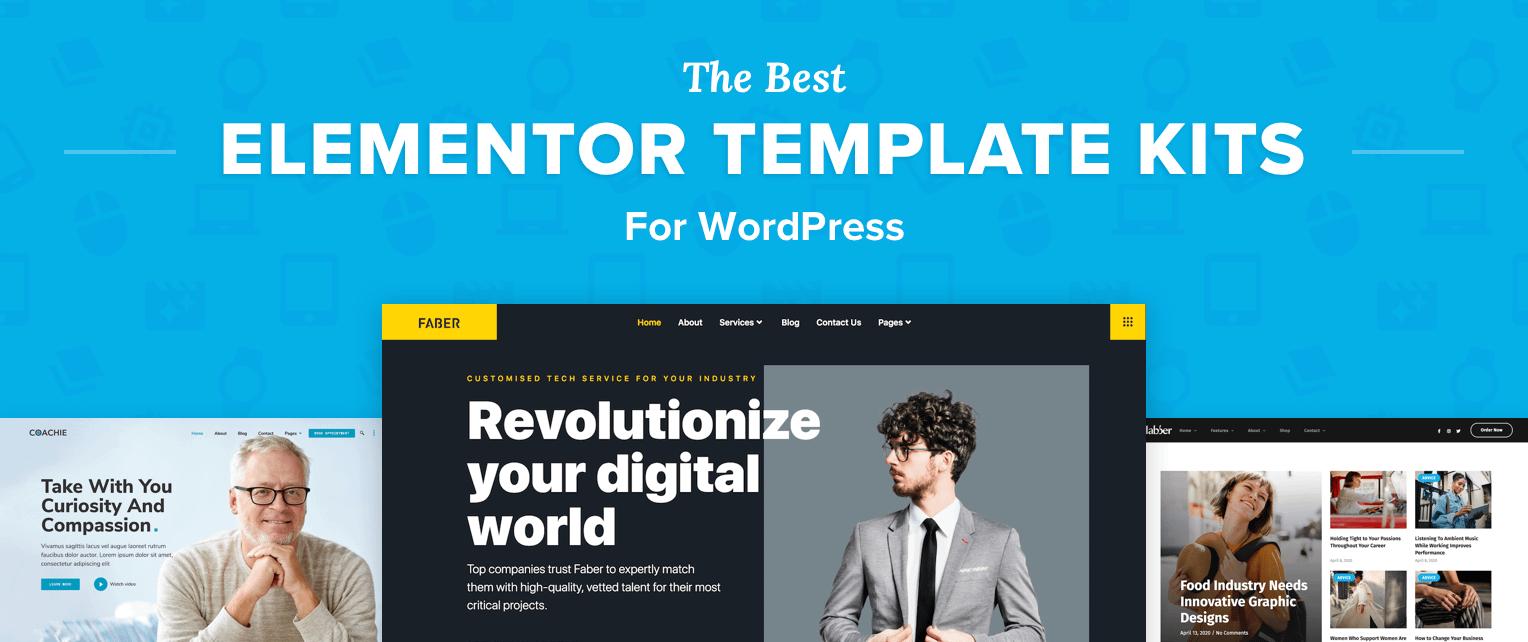 The Best Elementor Templates for WordPress
