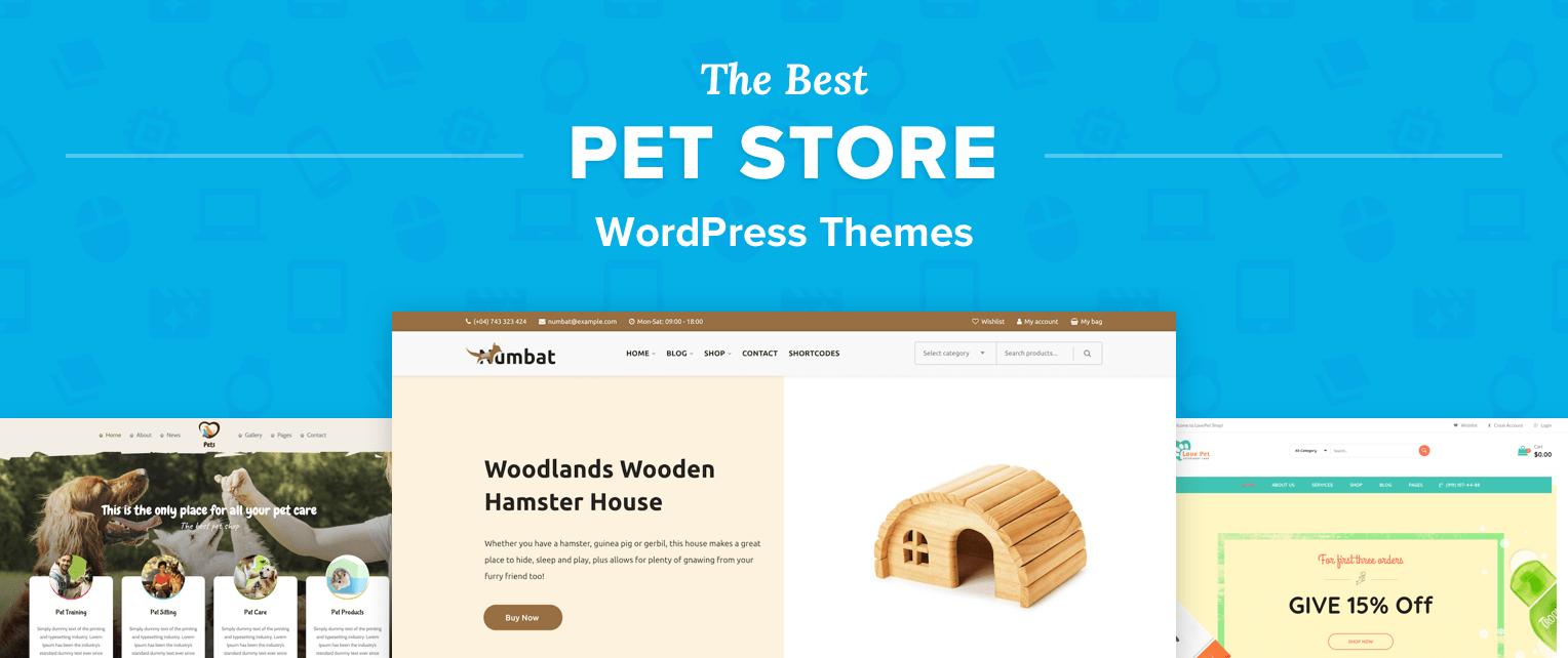 Pet Store Wordpress Themes