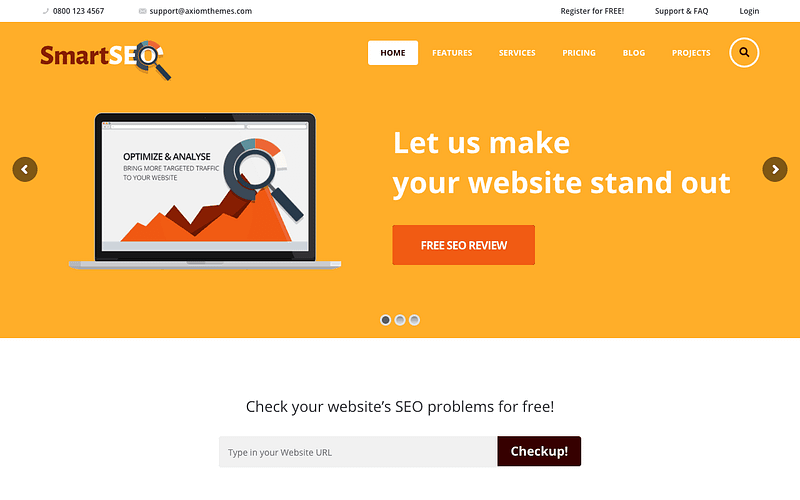 SmartSEO WP theme