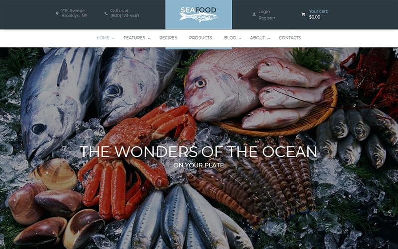 Seafood Company Restaurant Theme