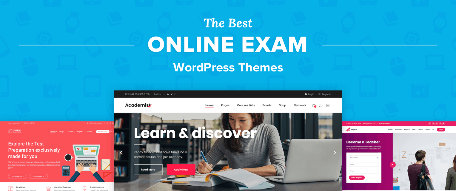 Online Exam Wordpress Themes