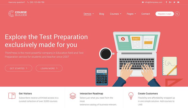 Course Builder Test Prep