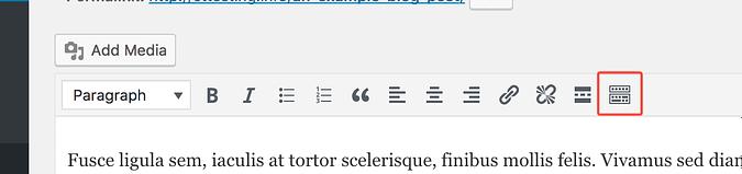 Toolbar toggle button screenshot