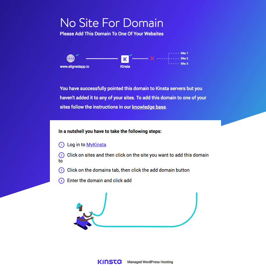 Kinsta Parked Page