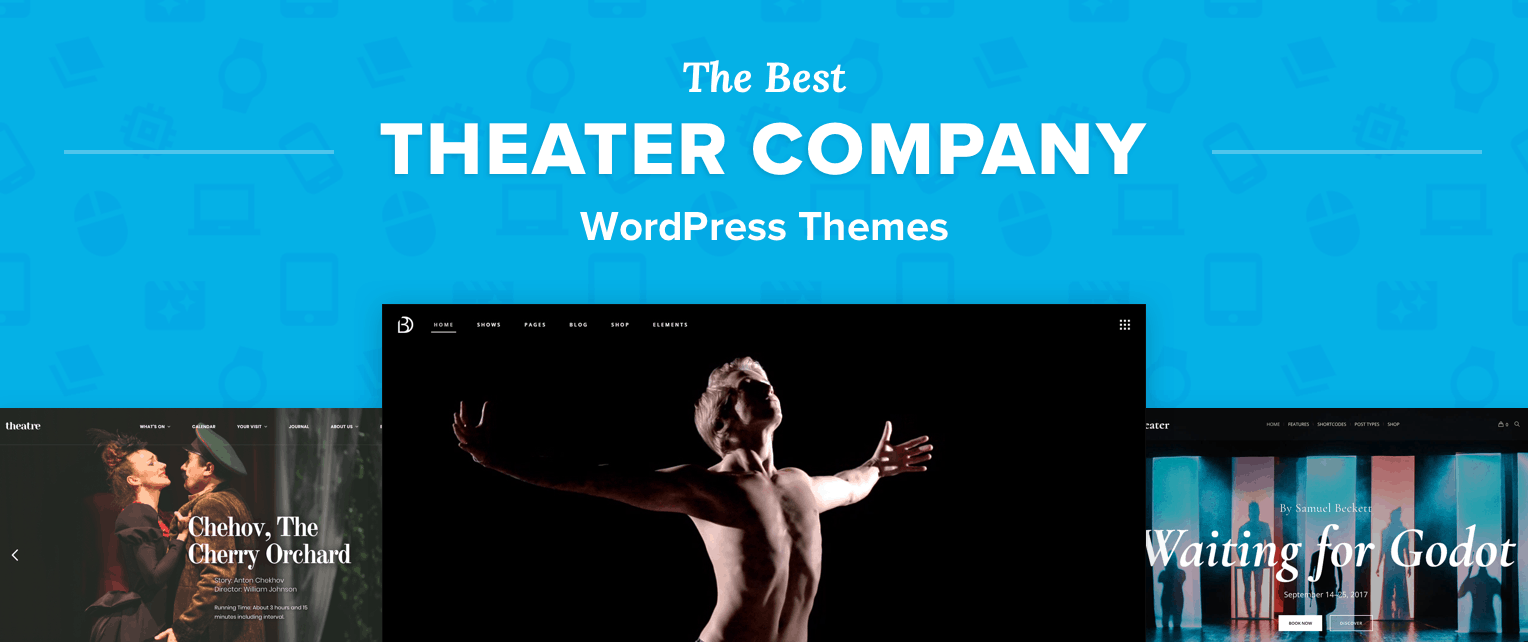 Theatre Company WordPress Themes