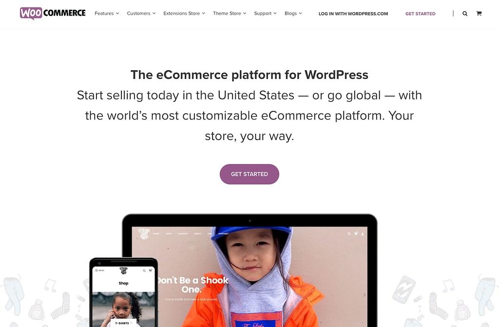 Woocommerce Website