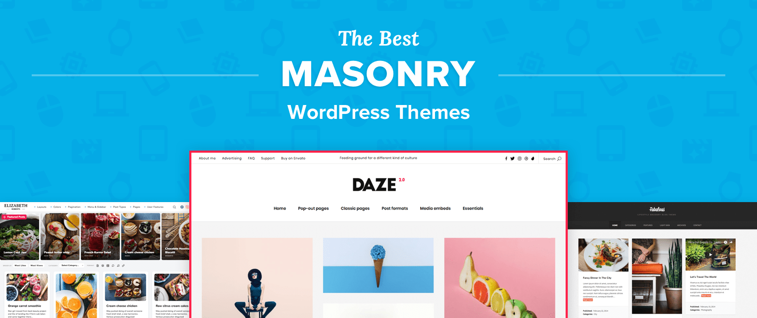 Masonry WordPress Themes