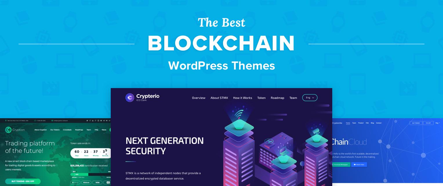 Blockchain WordPress Themes