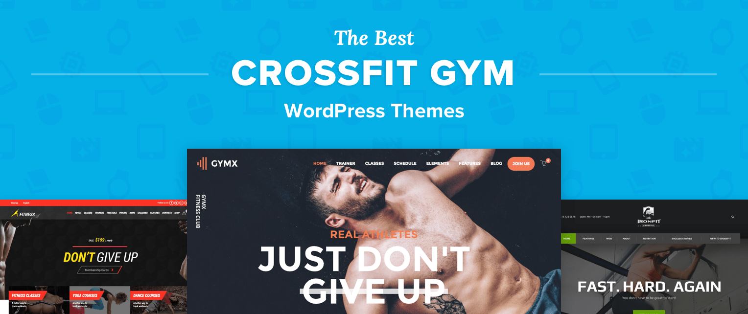 WordPress CrossFit Themes
