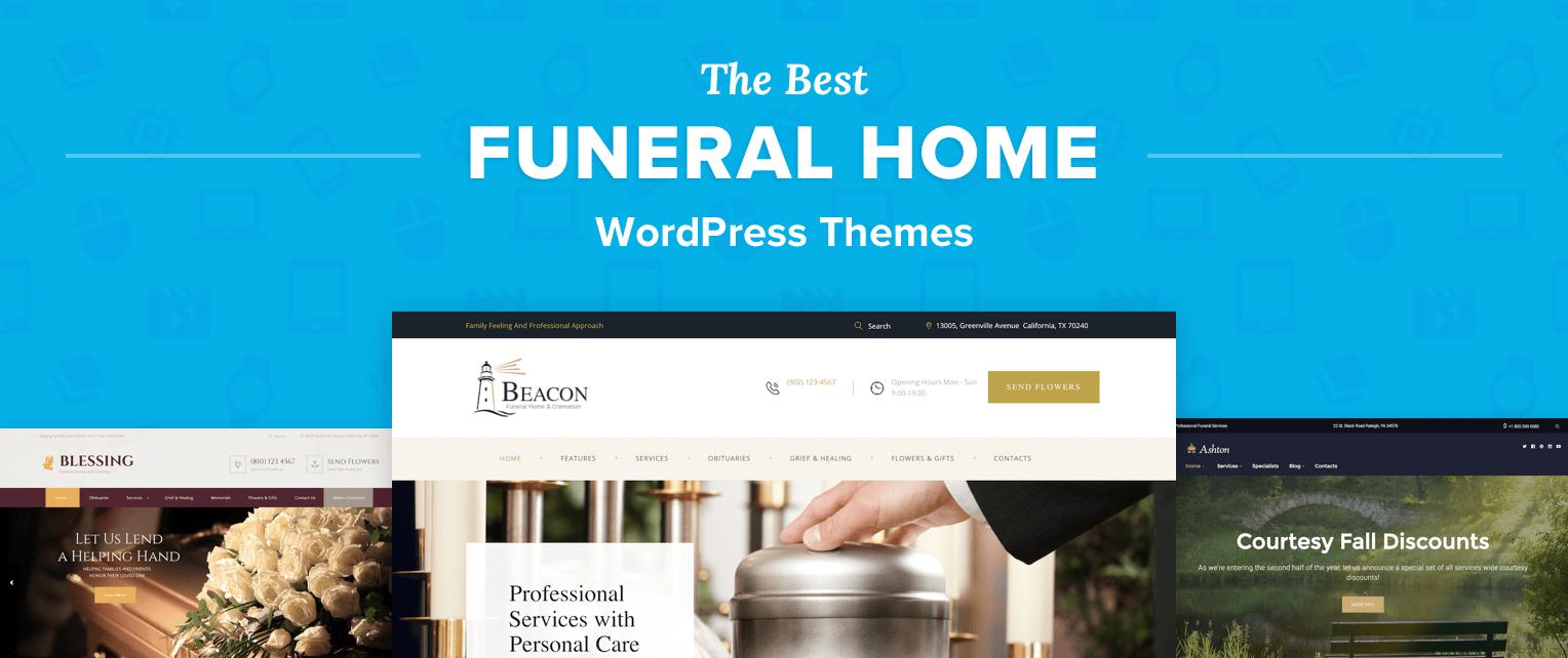 Funeral Home WordPress Themes