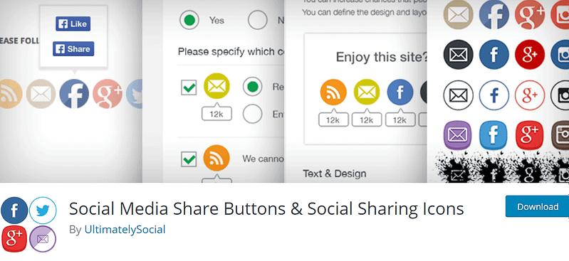 Social Media Share Buttons