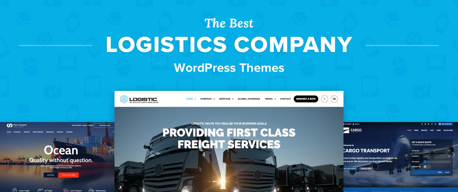 Logistics WordPress Themes