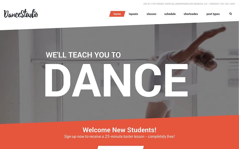 Dance Studio theme