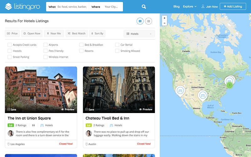 ListingPro Hotels