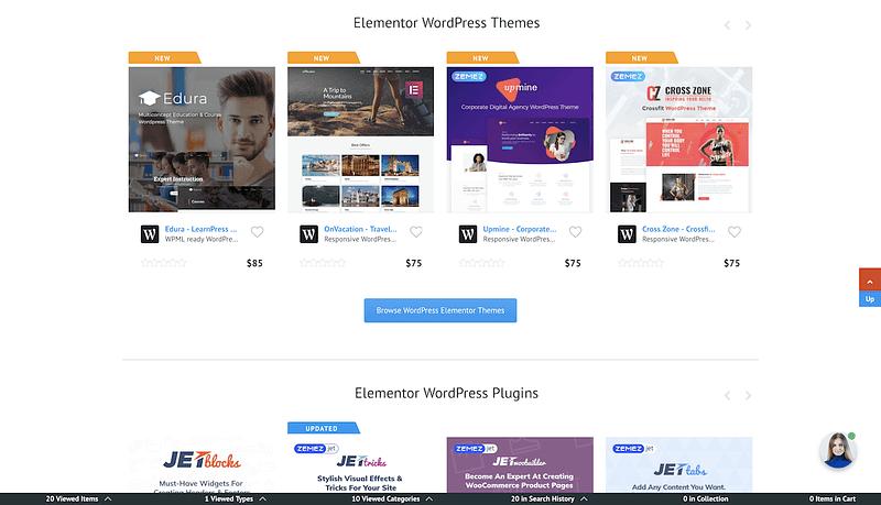Elementor Marketplace