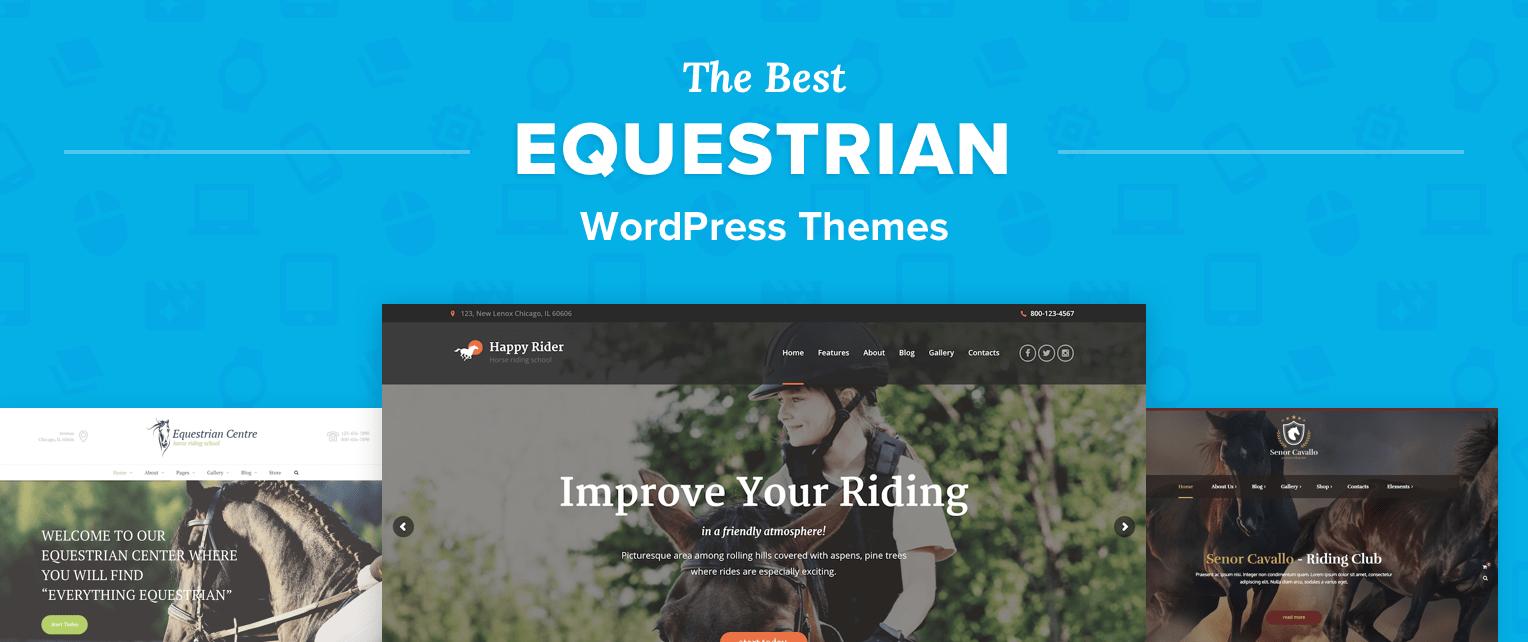Equestrian WordPress Themes