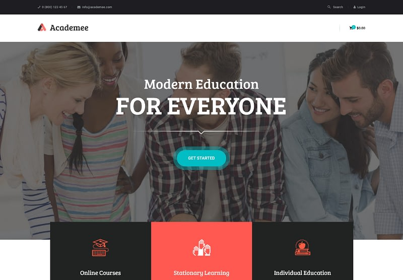 Academee WP theme