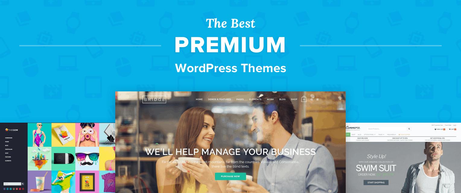 Best Premium WordPress Themes
