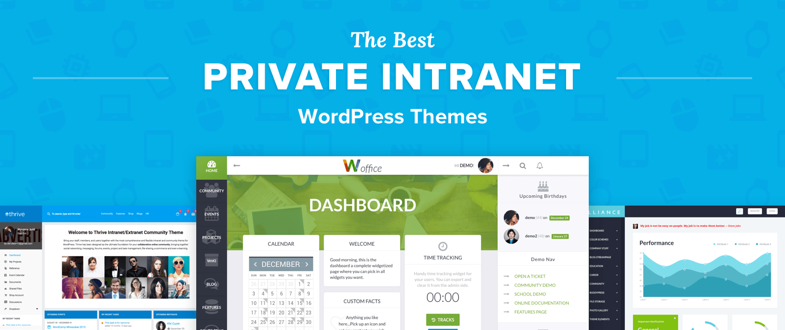 Intranet Wordpress Themes