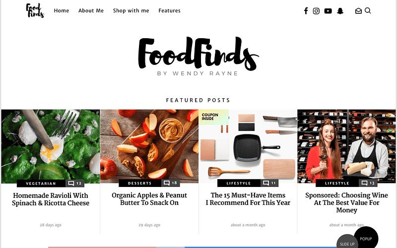 Starmile Food Blog