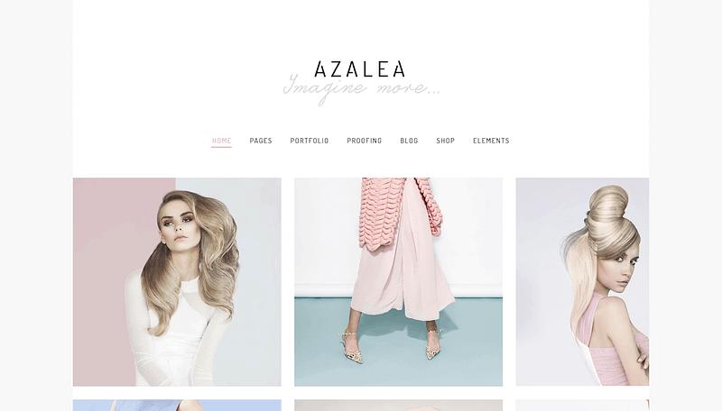 Azalea gallery theme