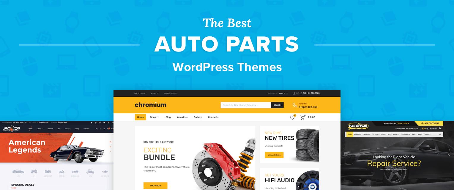 Best Auto Parts WordPress Themes