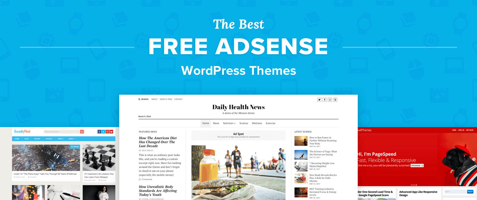 Free AdSense WordPress Themes