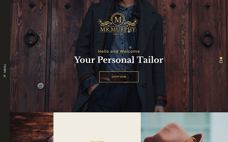 Mr. Murphy WordPress theme
