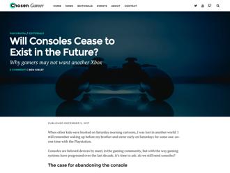 Chosen Gamer WordPress theme