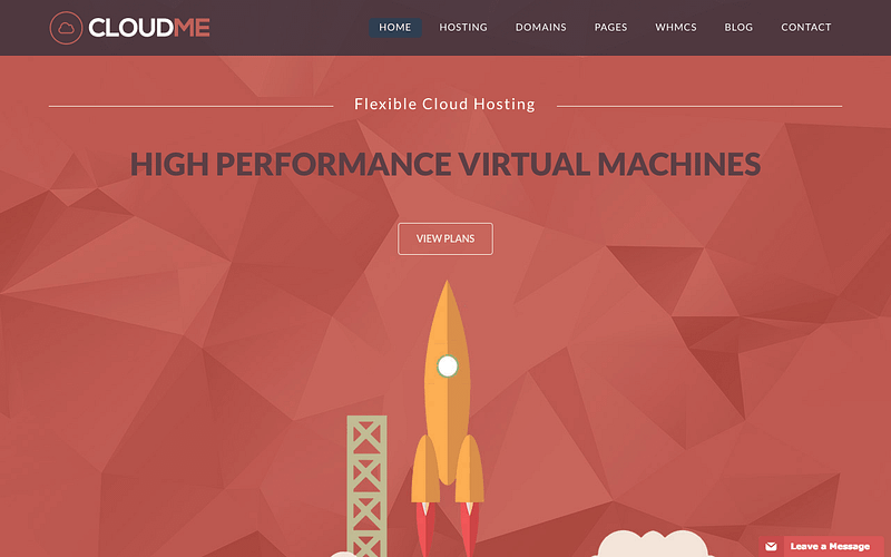 Cloudme hosting theme