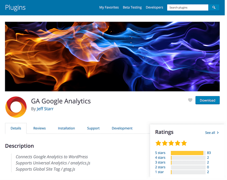 GA Google Analytics