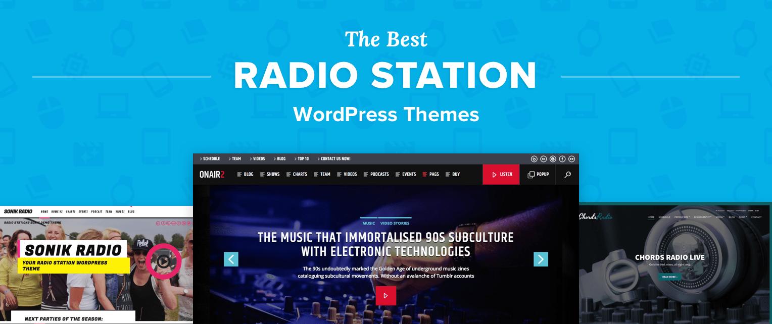 Radio Station WordPress Themes