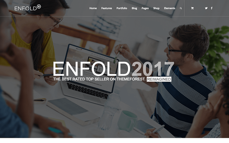 Enfold multipurpose WordPress theme
