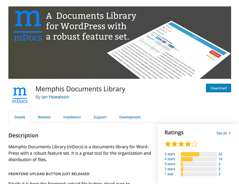 Memphis Documents Library