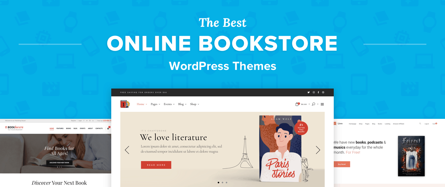 Bookstore WordPress Themes
