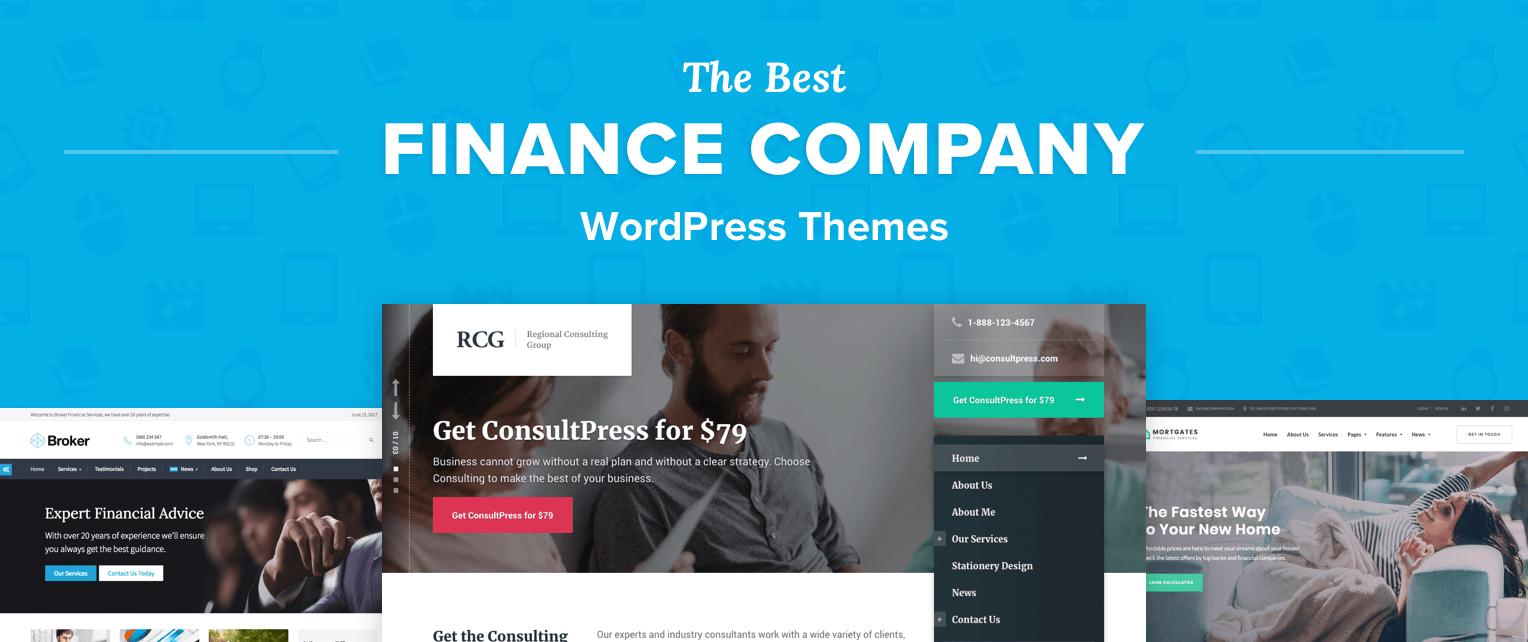 Finance Wordpress Themes