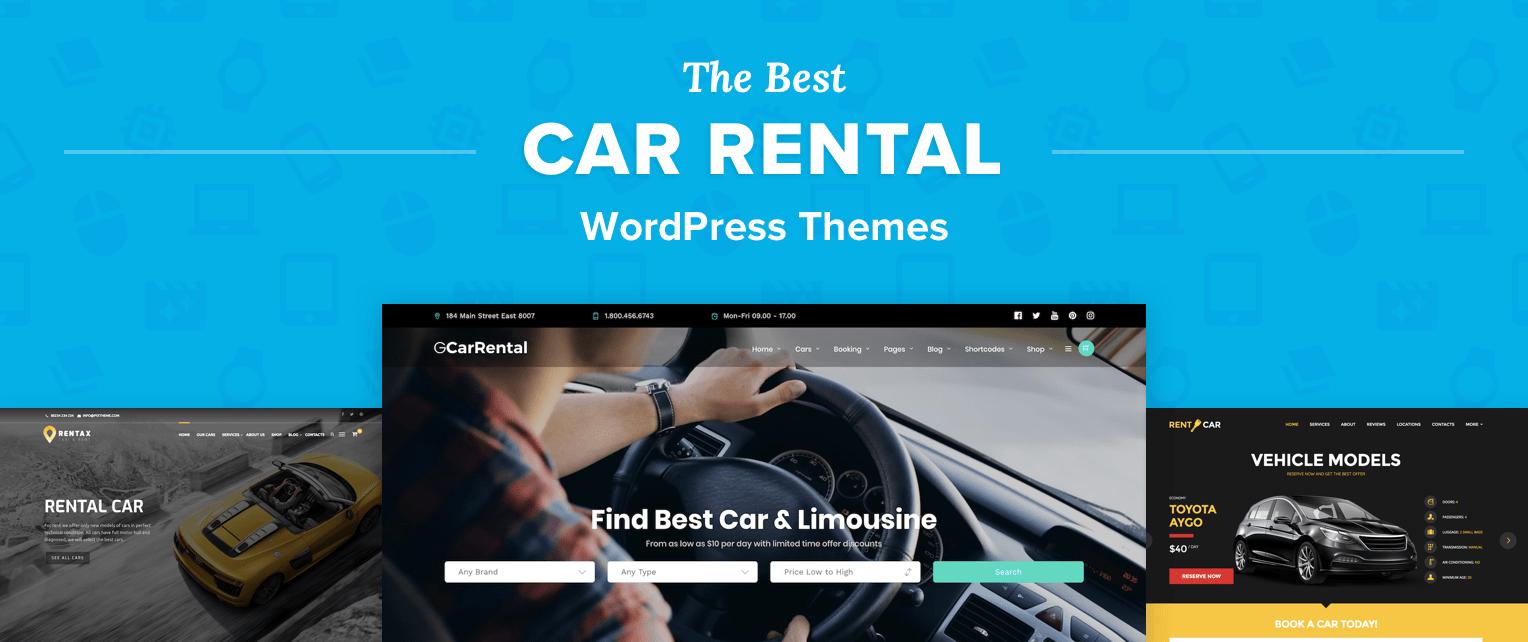 Car Rental WordPress Themes