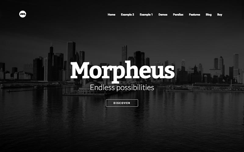 Morpheus ultimate parallax theme