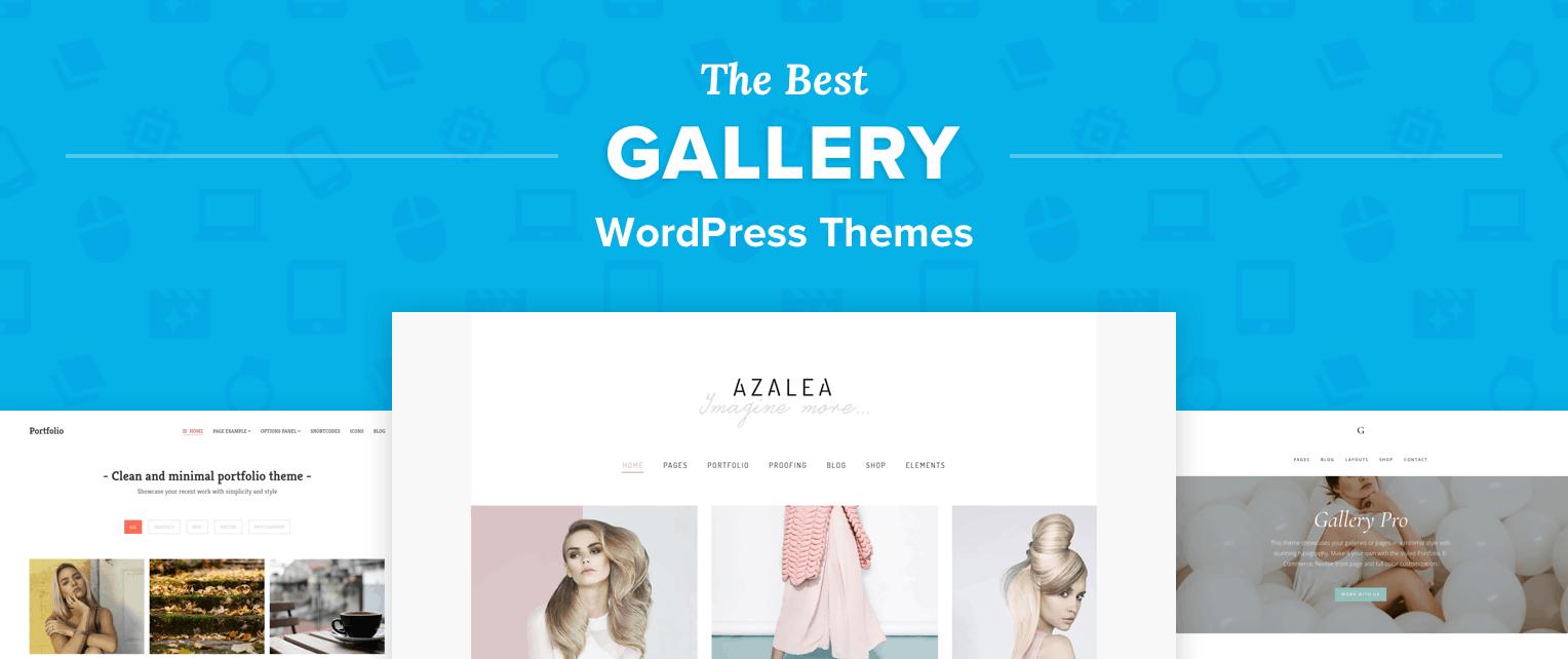 Best WordPress Gallery Themes