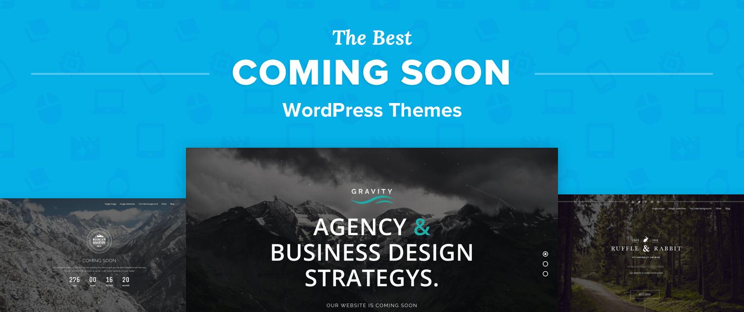Coming Soon WordPress Themes