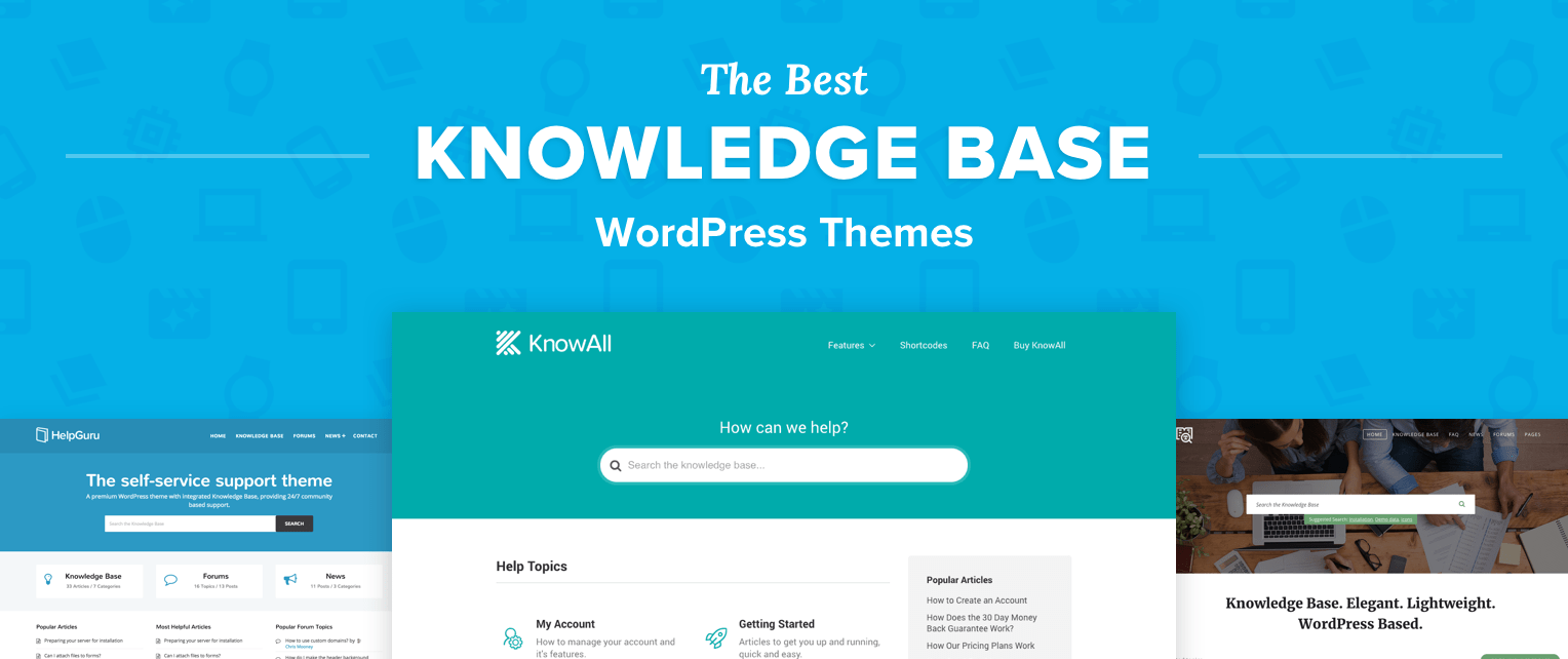 Knowledge Base WordPress Themes