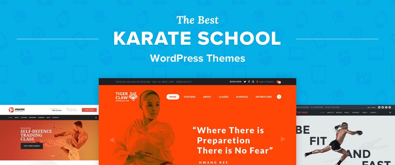 Karate WordPress Themes