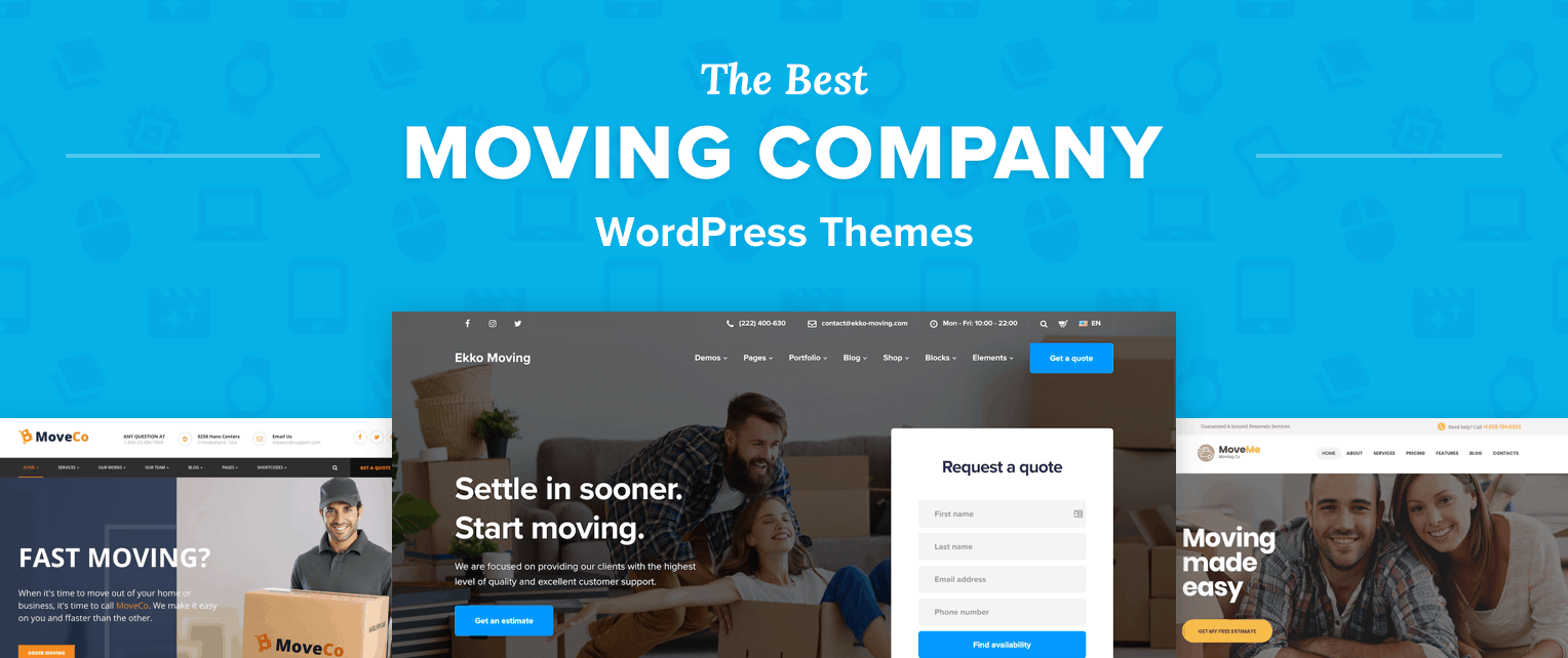 Best Moving Company WordPress Themes