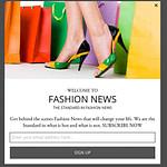 Fashion mobile optin